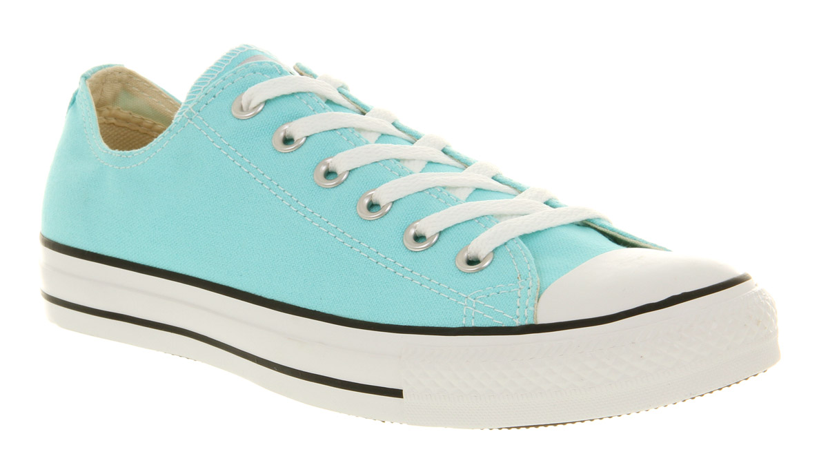 9bf84611a03e Lyst - Converse All Star Ox Low Aruba Blue Exclusive in Blue for Men