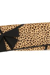 Christian Louboutin Ponyhair Jungle Lavalliere Clutch - Lyst