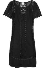 Temperley London Rodeo Lace and Cottonvoile Dress - Lyst
