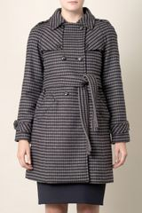 Weekend By Maxmara Mambo Check Coat - Lyst