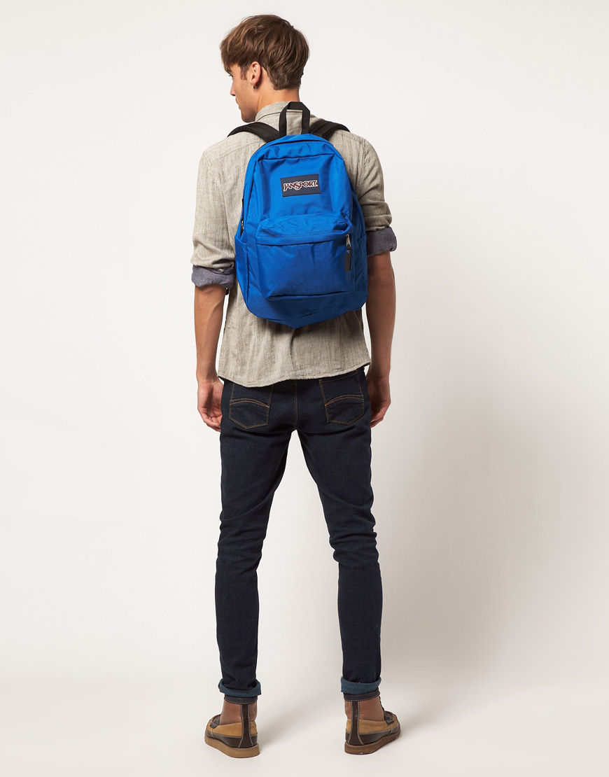 Jansport Superbreak Backpack in Blue for Men | Lyst