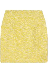 L'Wren Scott Highwaisted Bouclé Mini Skirt - Lyst