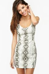 Nasty Gal Slither Dress - Lyst