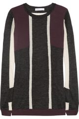 See By Chloé Wool Paneled Sweater - Lyst