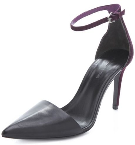 Alexander Wang Lina 2 Piece Pumps in Black - Lyst