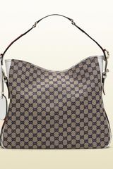 Gucci  Medium Shoulder Bag with Web Detail - Lyst