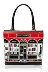 Lulu Guinness Black Book Shop Medium Edith - Lyst