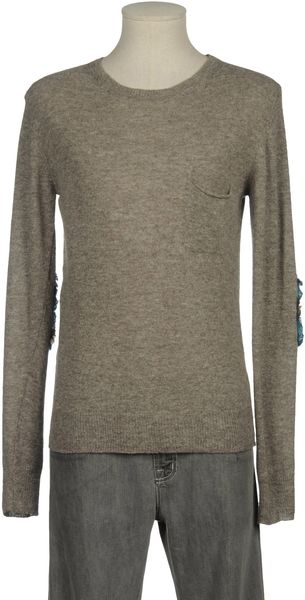Myths Crew-Neck Sweater - Lyst