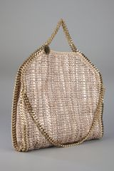Stella Mccartney Falabella Tote in Brown - Lyst