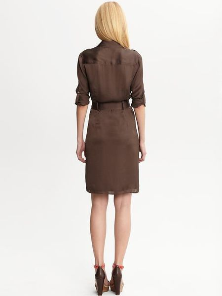 Buy Banana Republic Women's Green Factory Safari Dress. Similar products also available. SALE now on!Price: $