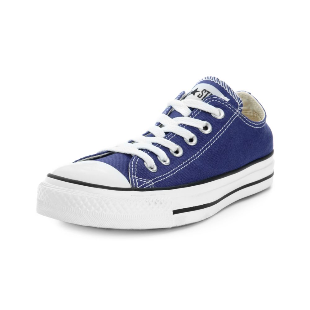 lyst converse chuck taylor all star oxford sneakers in blue. Black Bedroom Furniture Sets. Home Design Ideas