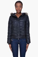 Diesel Black Hooded Jade Jacket - Lyst