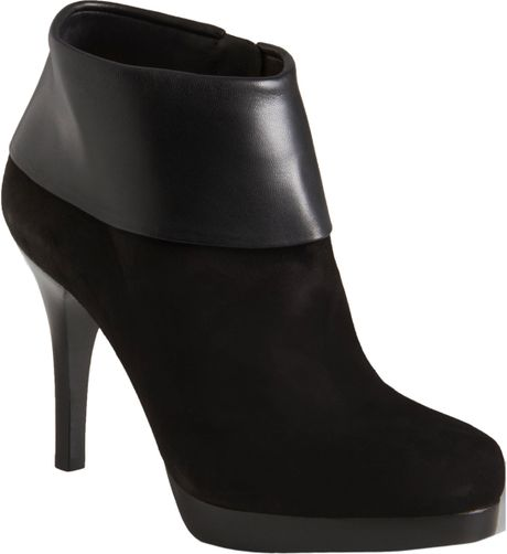 Balenciaga Cuffed Ankle Boot in Black (nero) - Lyst