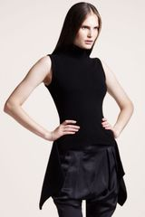 Givenchy Sleeveless Peplum Top - Lyst