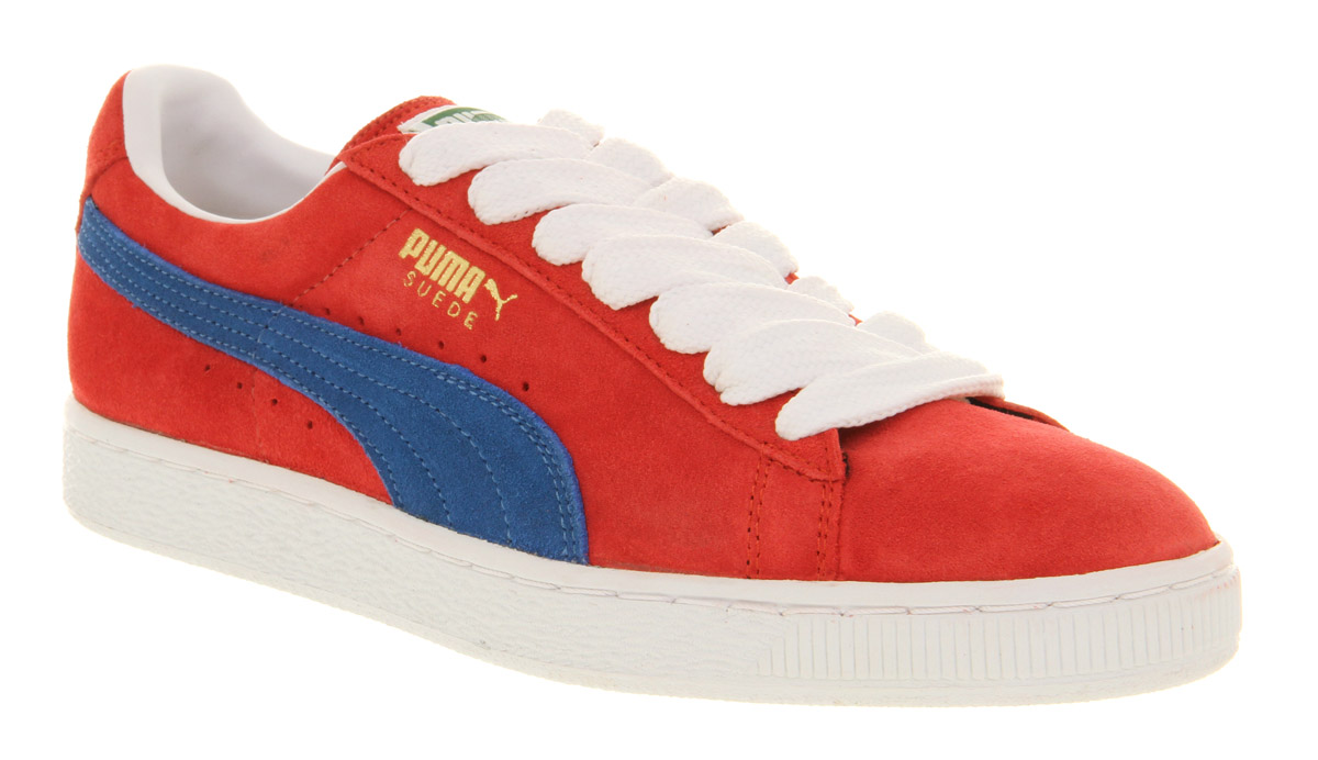 9c7dccfaba0 PUMA Suede Classic Ribbon Redblue in Red for Men - Lyst