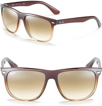 Ray-Ban Flat Top Boyfriend Gradient Sunglasses - Lyst