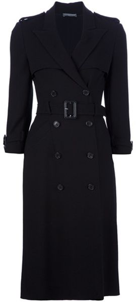 Alexander Mcqueen Archive Double Breasted Coat - Lyst