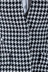 Alexander Mcqueen Archive Houndstooth Jacket in Black - Lyst