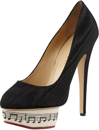 Charlotte Olympia Dance with Me Dolly Symphony Islandplatform Pump - Lyst