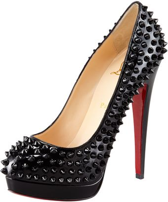 Christian Louboutin Alti Spike Red Sole Pump - Lyst