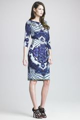 Emilio Pucci Marilyn Kaleidoscope-Print Dress - Lyst
