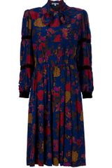 Givenchy Vintage Floral Dress - Lyst