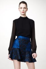 Stella McCartney Patty Brocade Skirt