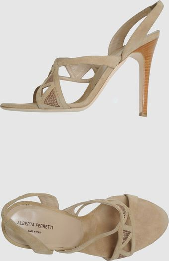 Alberta Ferretti High Heeled Sandals - Lyst
