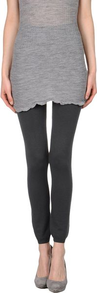 P.a.r.o.s.h. Leggings in Gray (lead) - Lyst