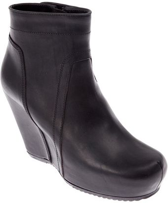 Rick Owens Wedge Boot - Lyst