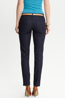 Banana Republic Sloan Fit Denim Slim Ankle Pant - Lyst