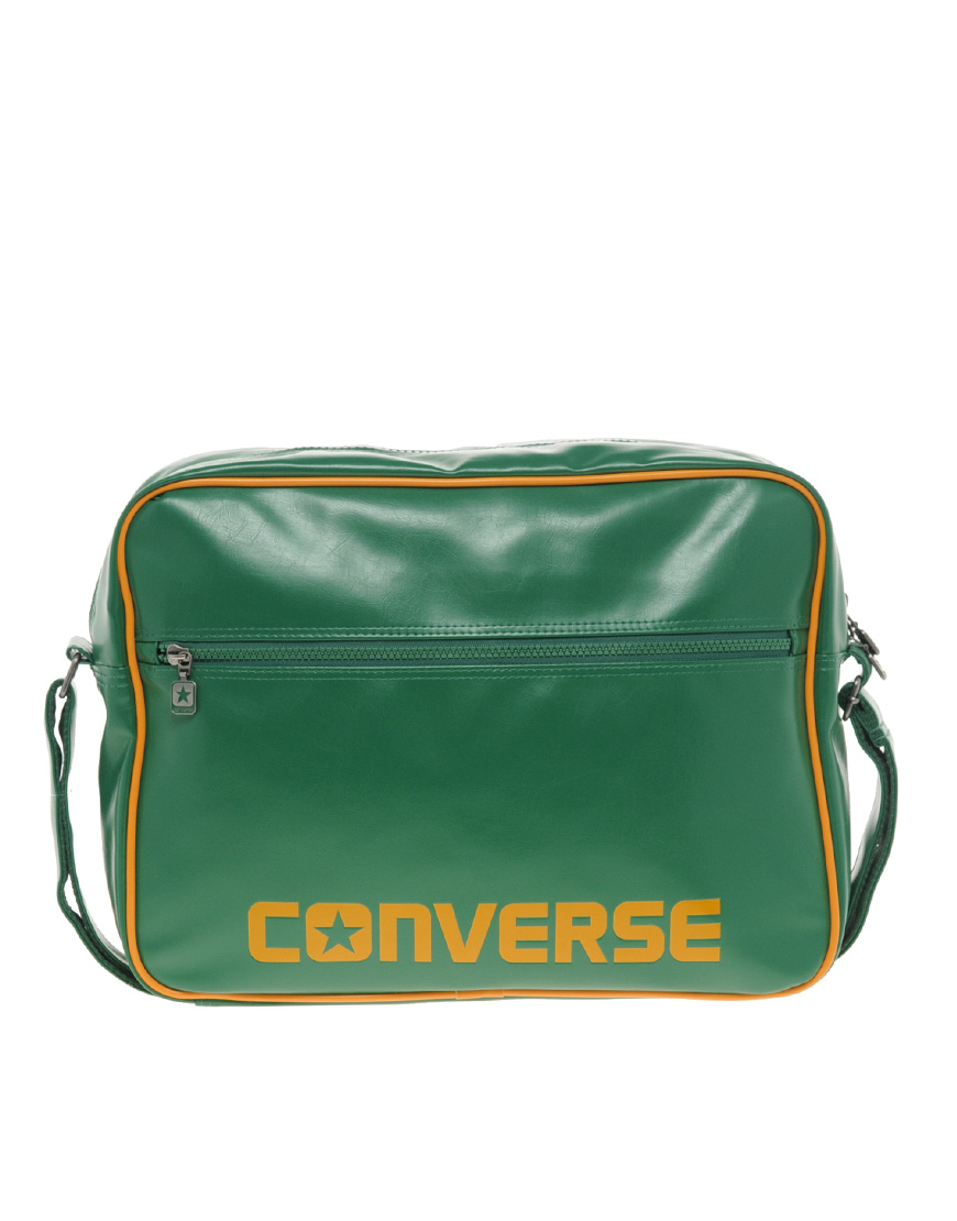 93b6c7bbea Lyst - Converse Messenger Bag in Green for Men