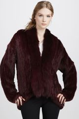 Elizabeth And James Bianca Fur Jacket - Lyst