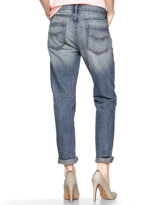 Gap Sexy Boyfriend Jeans in Blue (citrine) | Lyst