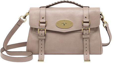 Mulberry Alexa Satchel  in Beige (650) - Lyst