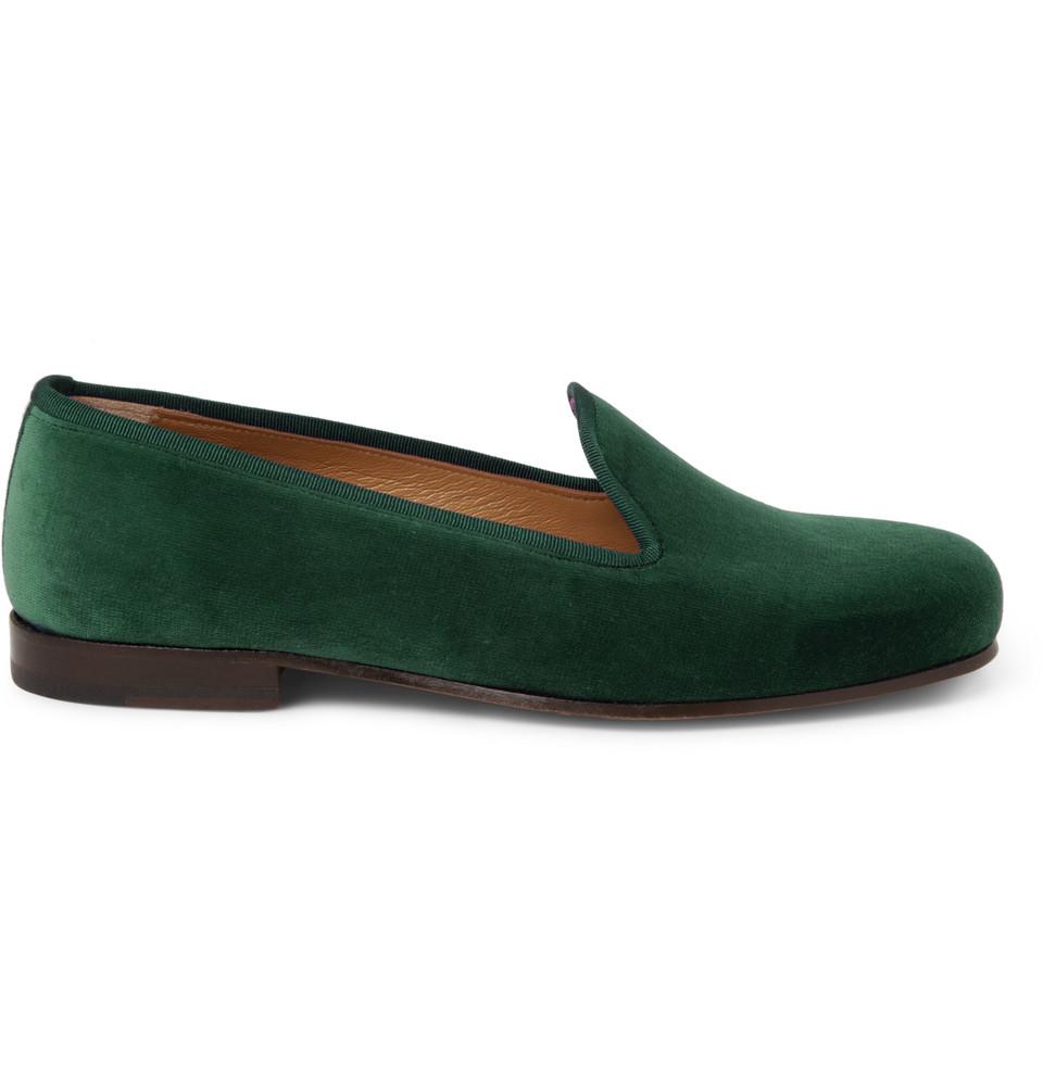 Wootton Velvet Slippers