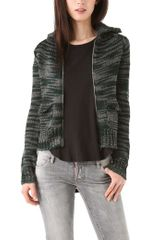 Thakoon Addition Knit Zip Cardigan - Lyst
