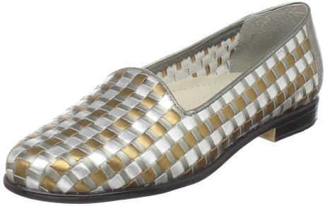 Trotters Trotters Womens Liz Slipon in Gray (metallic multi) - Lyst