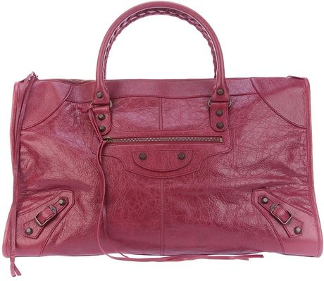 Balenciaga Classic Work Tote in Purple - Lyst