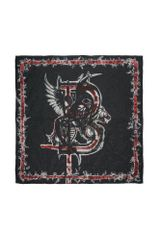 Balmain Square Scarf in Multicolor (black) - Lyst
