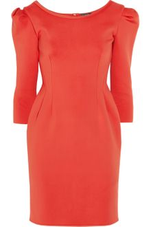 Lanvin Neoprene Dress - Lyst