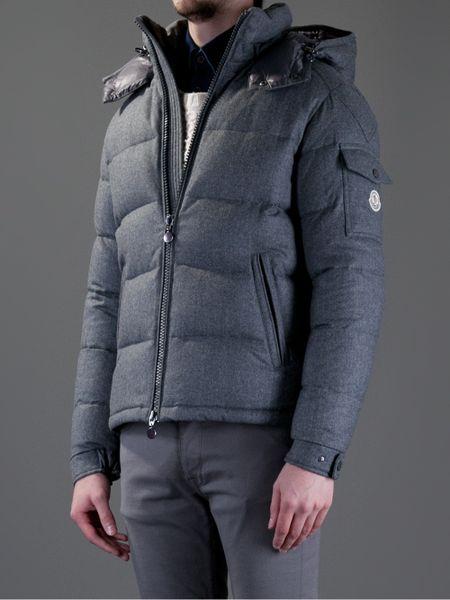Moncler Montgenevre Jacket in Gray for Men (grey) | Lyst