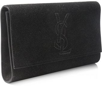 Yves Saint Laurent Belle Du Jour Quartz Clutch - Lyst