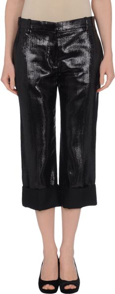 Balmain 34length Trousers in Black - Lyst