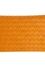 Bottega Veneta Intrecciato Zip Around Wallet - Lyst