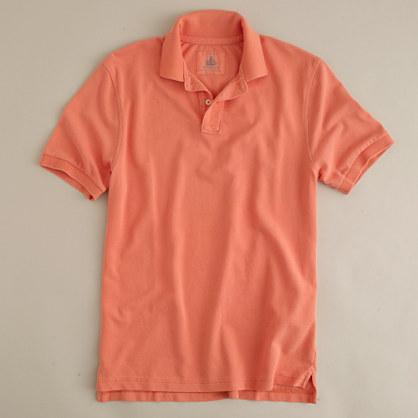 978efba9 Lyst - J.Crew Vintage Polo in Orange for Men