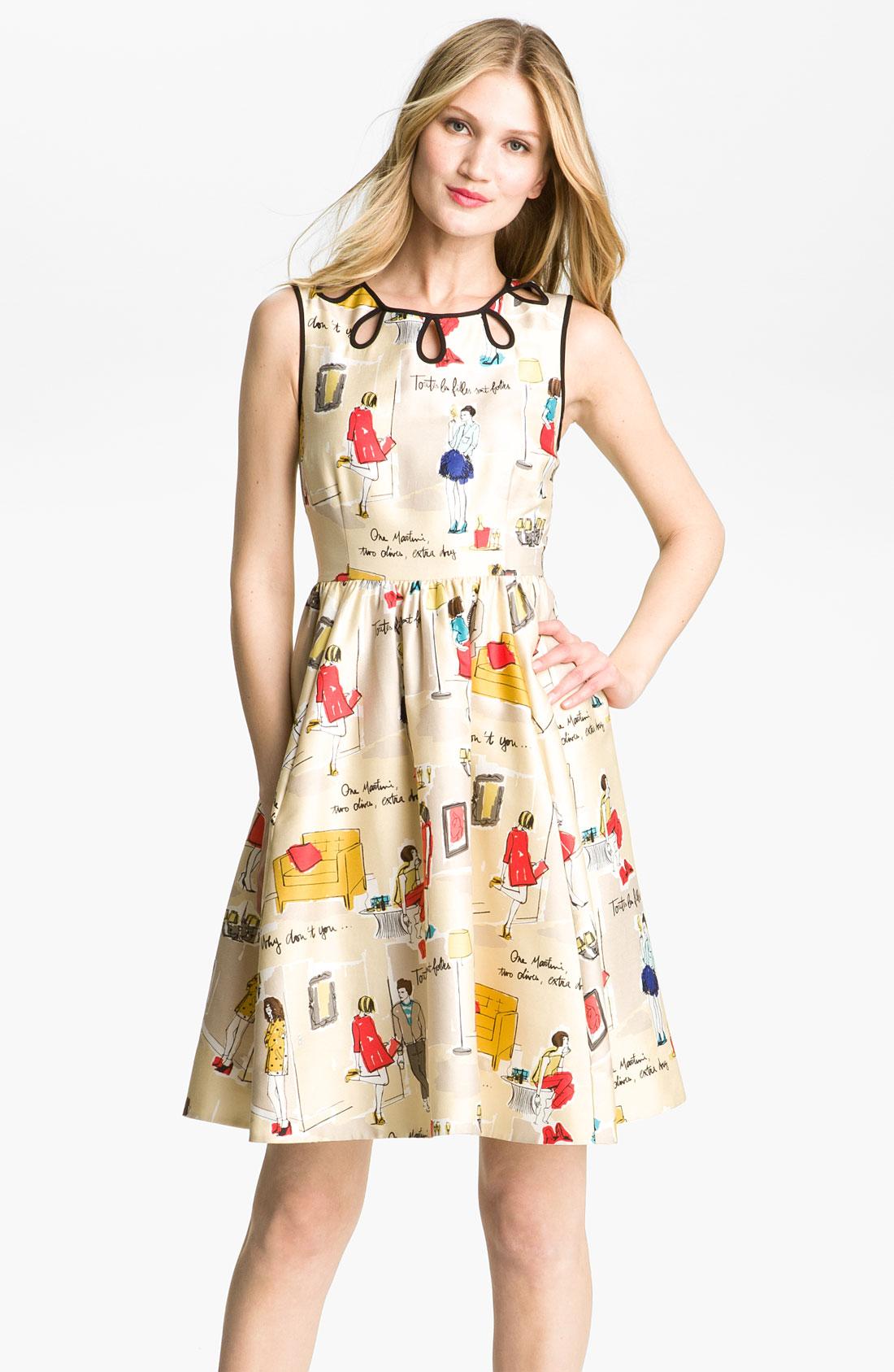Lyst Kate Spade New York Rainey Dress