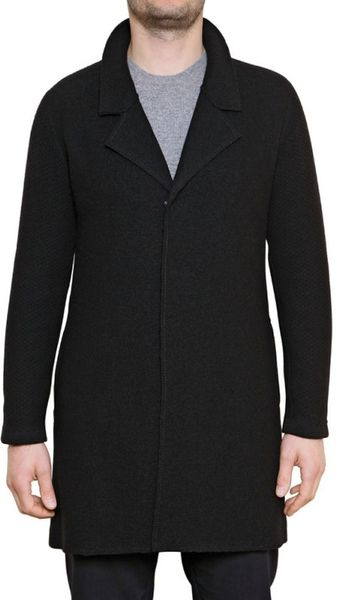 Laura G Wool Cloth Coat - Lyst