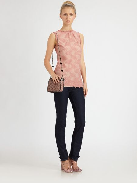Red Valentino Lace Blouse in Pink (rose)