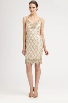 Sue Wong Beaded Dress - Lyst